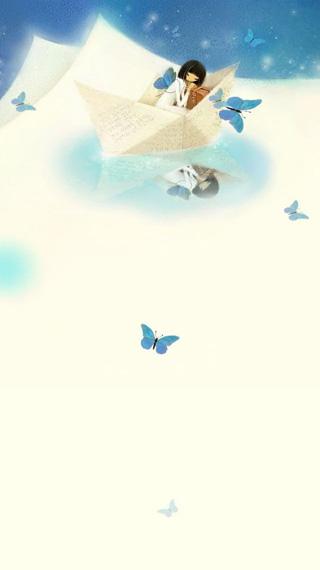 韩国手绘动态壁纸-可爱小女生2