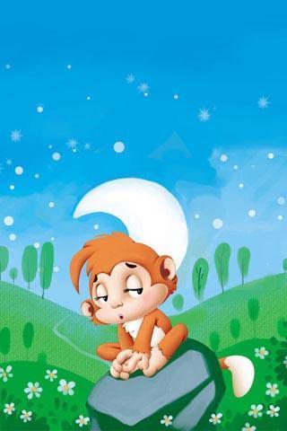 猴子掰玉米