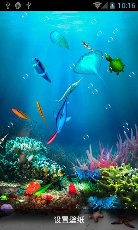 海底世界動態壁紙1.0